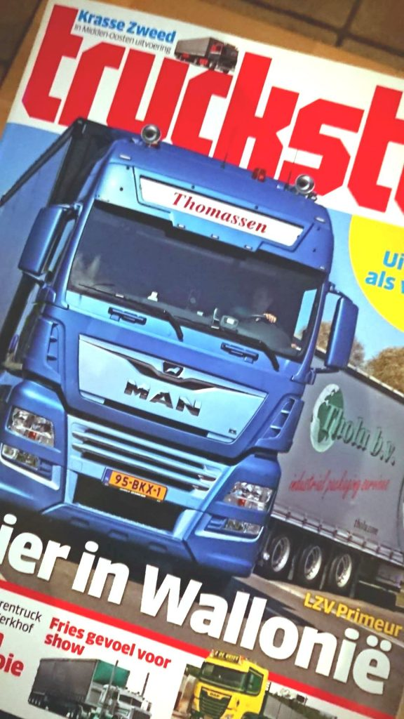 lu pour vous dans TRUCKSTAR (NL) : le premier éco-combis des Pays-Bas en Wallonie