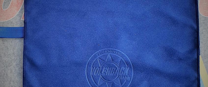 SERVIETTE microfibre Bleu