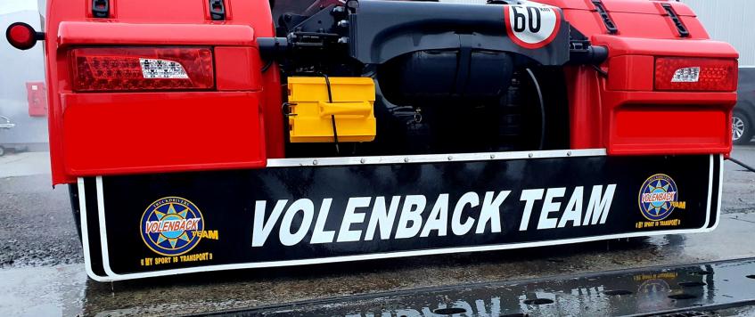 BAVETTE Volenback Team (30 cm hauteur)